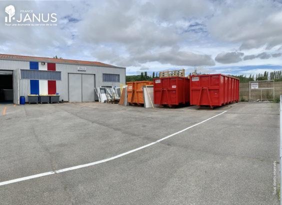 Bennes pour la gestion des déchets