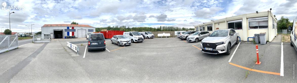 Notre entreprise à Rieux dans l'Oise. Entrepôts, ateliers et bureaux administratifs.